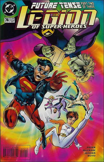 Legion of Super-Heroes (1989) 74-A by DC
