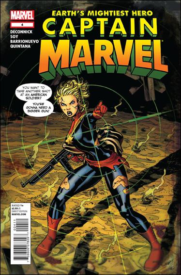Captain Marvel (2012) 4-A by Marvel