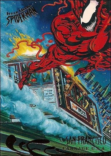 Fleer Ultra Spider-Man (Base Set) 141-A by Fleer