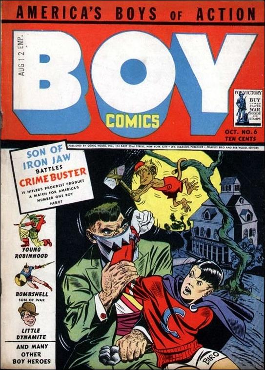 Boy Comics 6-A by Lev Gleason Productions
