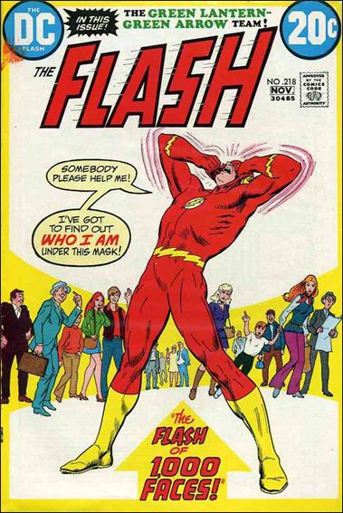 Flash (1959) 218-A by DC