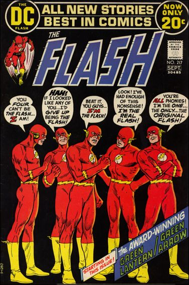 Flash (1959) 217-A by DC