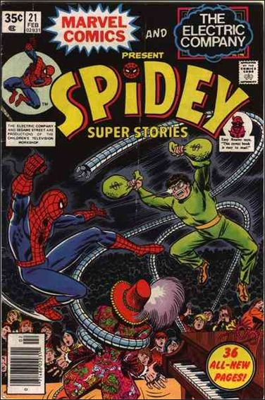 Spidey Super Stories 21-A by Marvel