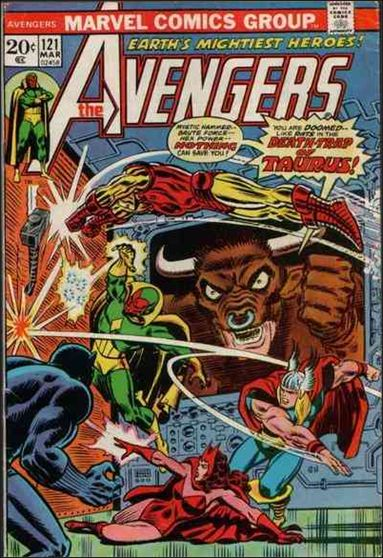 Avengers (1963) 121-A by Marvel