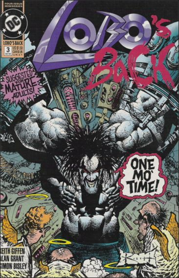Lobo's Back 3-A by DC