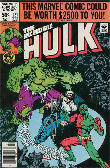 Incredible Hulk (1968) 251-A by Marvel