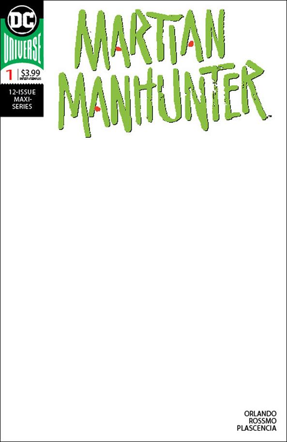 Martian Manhunter (2018) 1-C by DC
