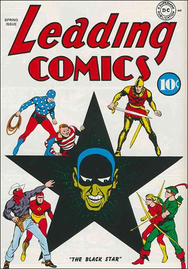 Leading Comics 2-A by DC