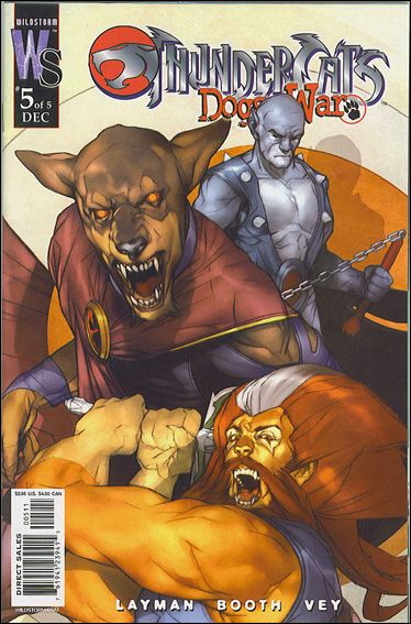 ThunderCats: Dogs of War 5-A by WildStorm