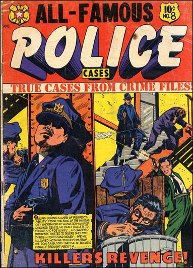 All-Famous Police Cases 8-A by Fox
