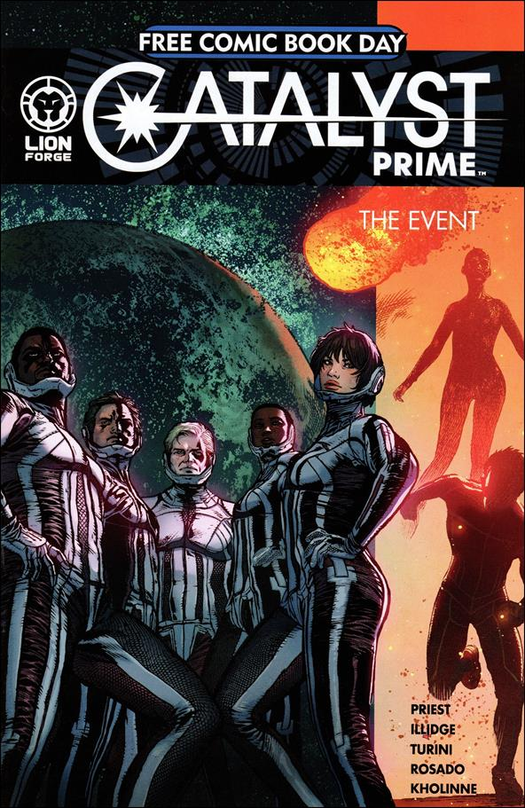 Catalyst Prime: The Event nn-A by Lion Forge Comics
