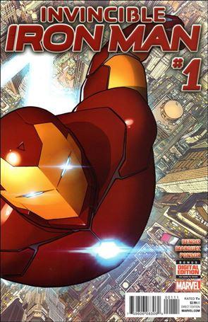 Invincible Iron Man (2015)  1-A