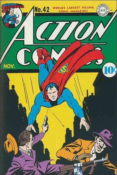 Action Comics (1938) 42-A by DC