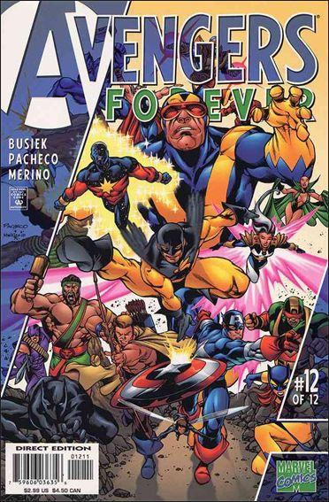 Avengers: Forever 12-A by Marvel