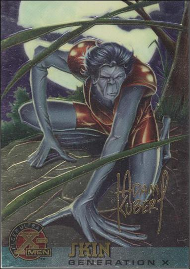 1995 Fleer Ultra X-Men All Chromium (Gold Signature Parallel Base Set) 36-A by Fleer