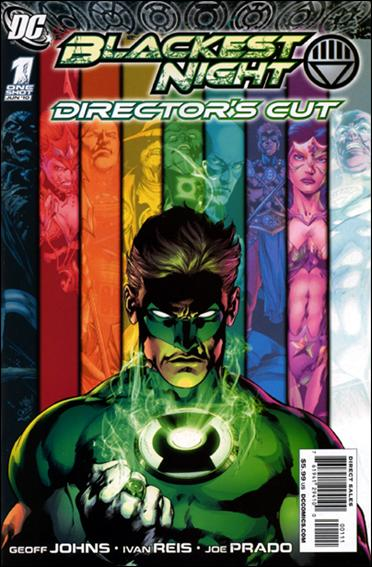 Blackest Night Director's Cut 1-A by DC