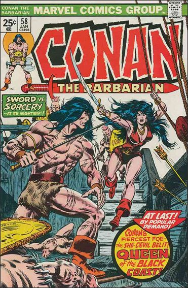 Conan the Barbarian (1970) 58-A by Marvel