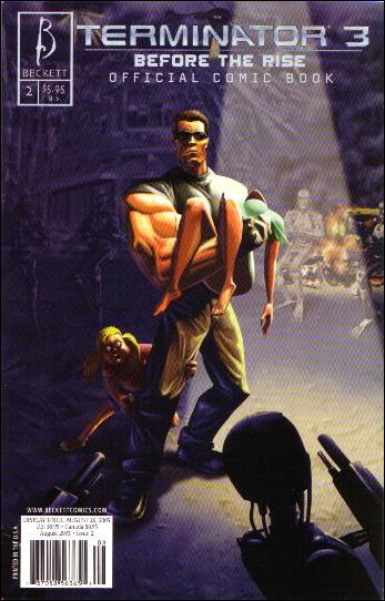 Terminator 3: Before The Rise: Official Comic Book 2-A by Beckett Comics
