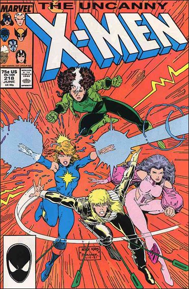 Uncanny X-Men (1981) 218-A by Marvel