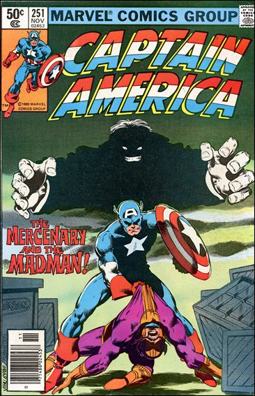 Captain America (1968) 251-A by Marvel