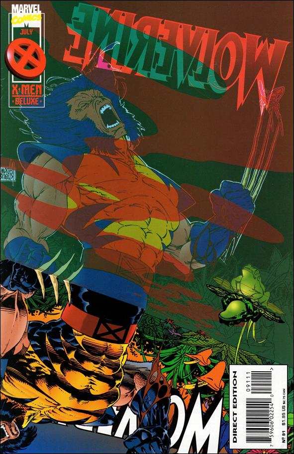 Wolverine (1988)  91-A by Marvel