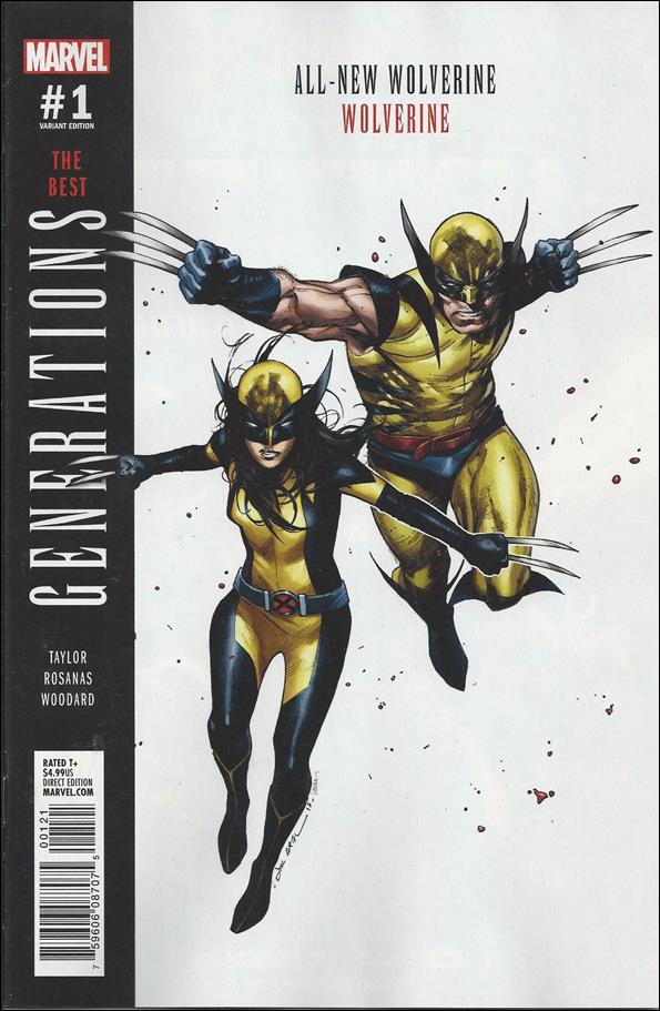 Generations: Wolverine & All-New Wolverine 1-B by Marvel
