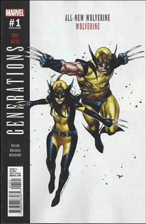 Generations: Wolverine & All-New Wolverine 1-B