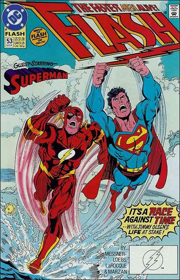 Flash (1987) 53-A by DC