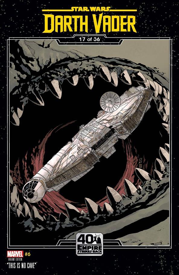 Star Wars: Darth Vader 6-B by Marvel