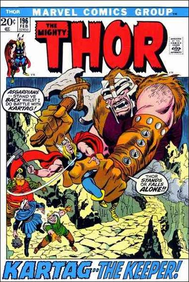 Thor (1966) 196-A by Marvel
