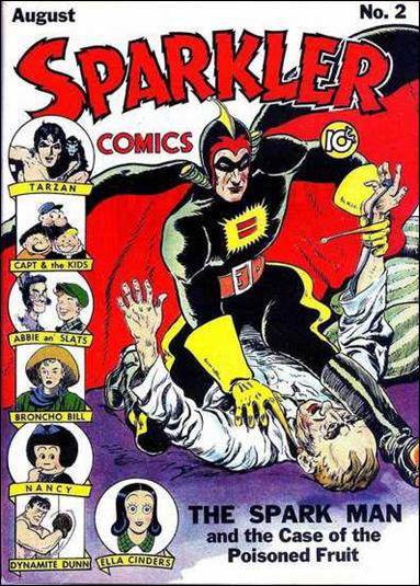 Sparkler Comics (1941) 2-A by United Features Syndicate