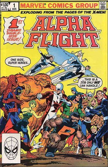 Alpha Flight (1983) 1-A by Marvel