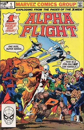 Alpha Flight (1983) 1-A