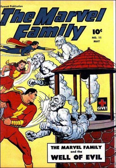 Marvel Family 11-A by Fawcett