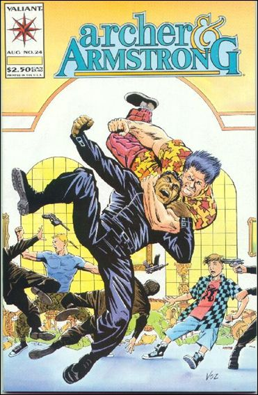 Archer & Armstrong (1992) 24-A by Valiant