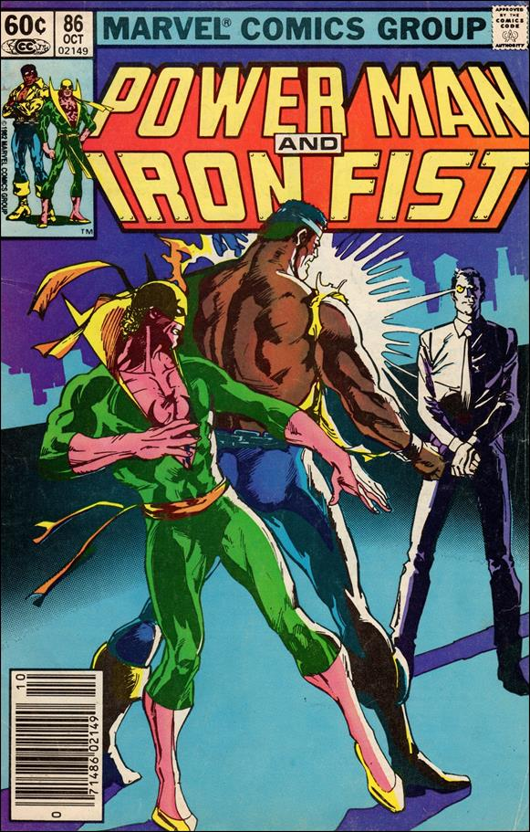 Power Man and Iron Fist (1978) 86-A by Marvel