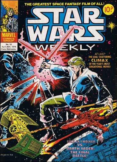 Star Wars Weekly (UK) 12-A by Marvel UK