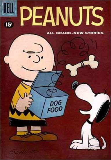 Peanuts (1960) 8-A by Dell