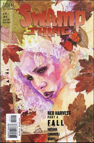 Swamp Thing (2000) 14-A by Vertigo