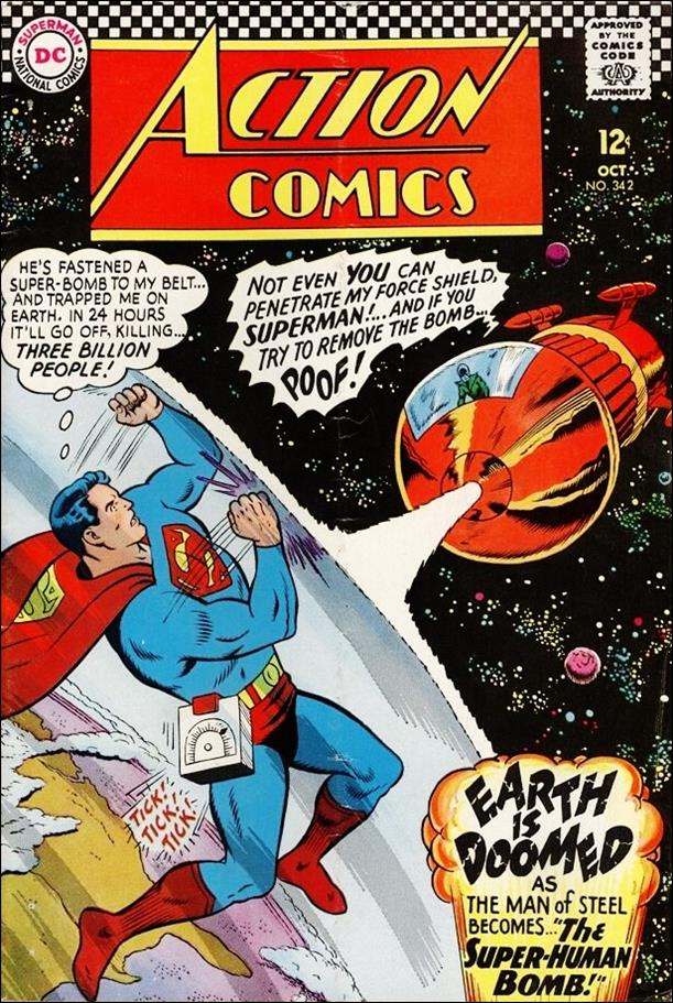 Action Comics (1938) 342-A by DC