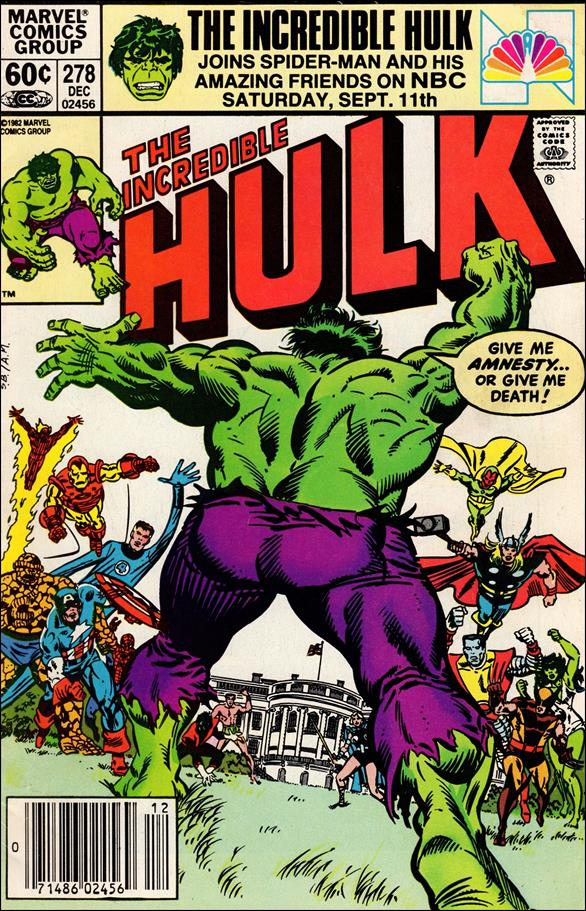 Incredible Hulk (1968) 278-A by Marvel