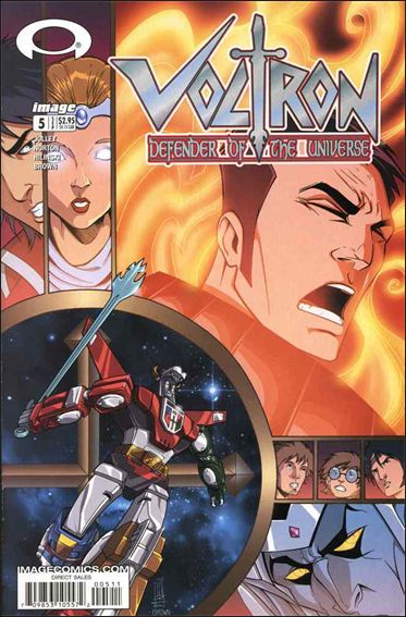 Voltron: Defender of the Universe (2003) 5-A by Image