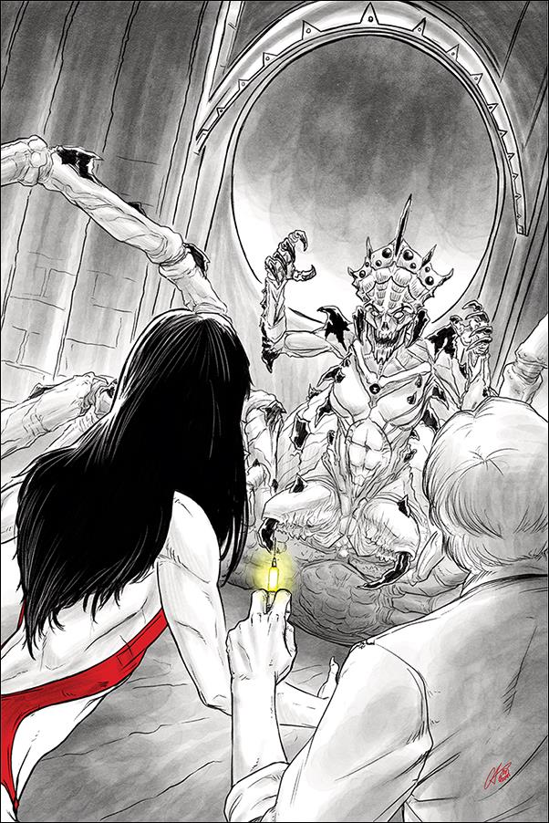 Vampirella vs Reanimator 4-G by Dynamite Entertainment