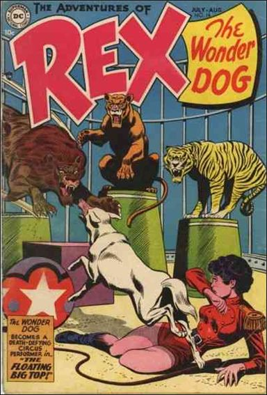 Adventures of Rex the Wonder Dog 16-A by DC