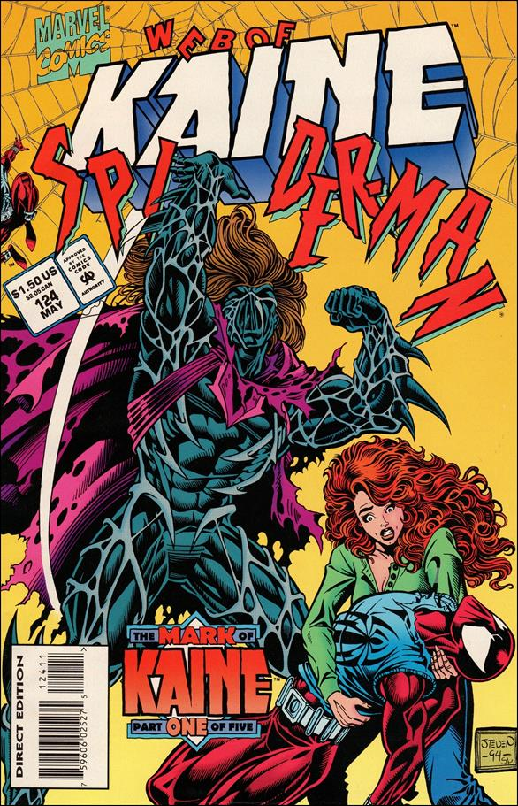 Web of Spider-Man (1985) 124-A by Marvel