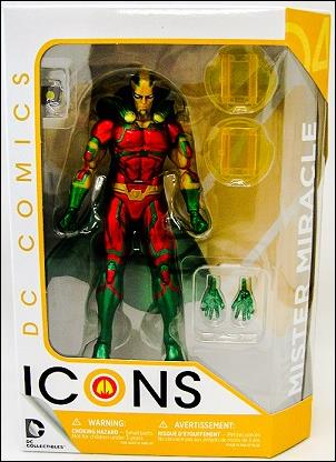 DC Icons Mister Miracle by DC Collectibles