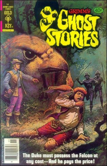 Grimm's Ghost Stories 54-A by Gold Key