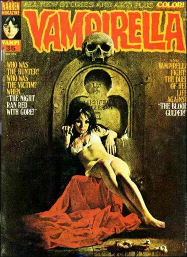 Vampirella 35-A by Warren
