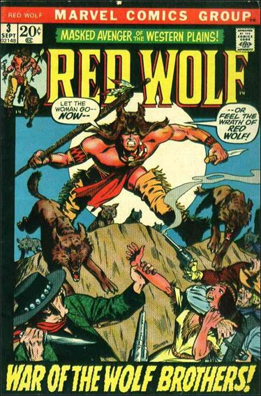 Red Wolf (1972) 3-A by Marvel