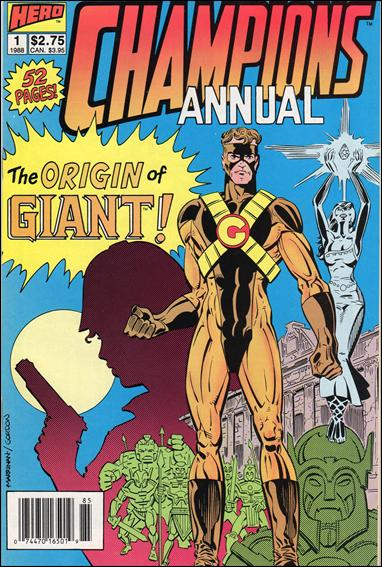 Champions Annual 1-A by Hero Comics
